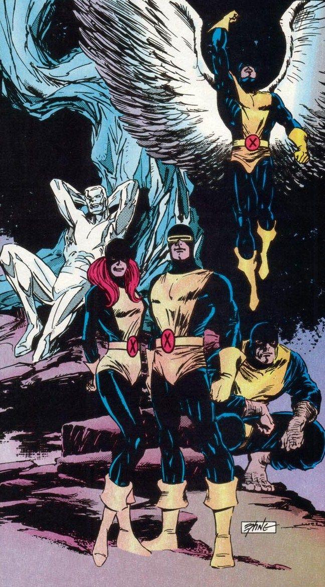 Original X-Men by Steve Epting