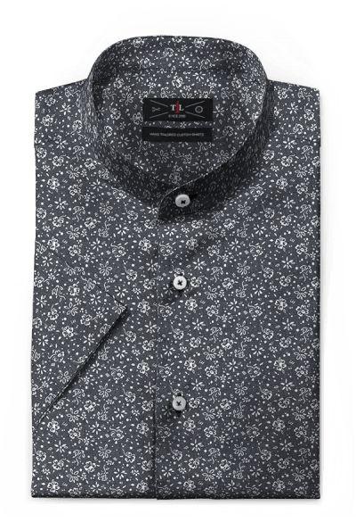 Grey short sleeved floral 100% cotton Shirt: http://www.tailor4less.com/en-us/men/shirts/3127-grey-short-sleeved-floral-100-cotton-shirt