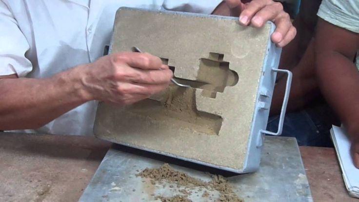 Laboratorio de practica de moldes y fundición en arena #2