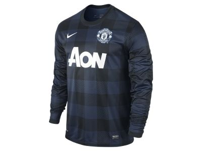 2013/14 Manchester United Stadium Long-Sleeve Men's Football Shirt