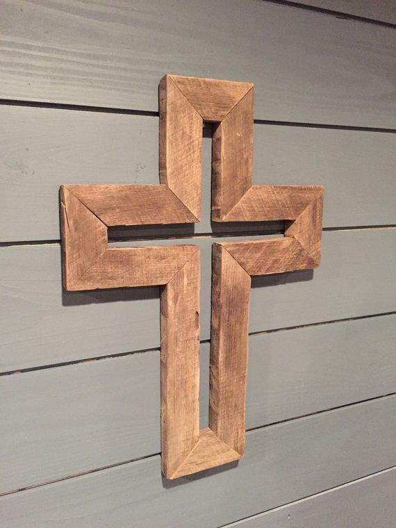 Rustic Wooden Cross Furniture In 2019 Woodworking