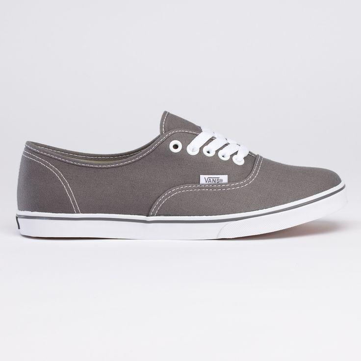 Got my wish! grey vans...canvas authentic lo pros...want em...size 7 please:)