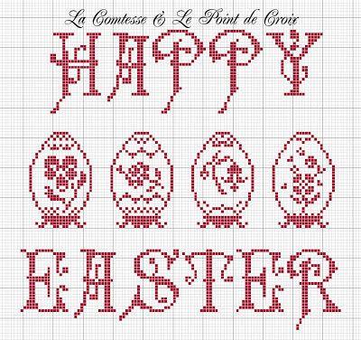 La Comtesse & Le Point De Croix: Pasqua e le uova Fabergé