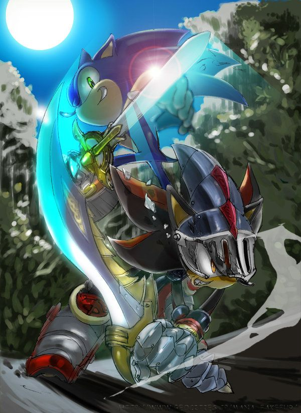 Sonic The Hedgehog Shadow The Hedgehog Lancelot Sonic And The Black Knight Sonic The Hedgehog Sonic Shadow The Hedgehog