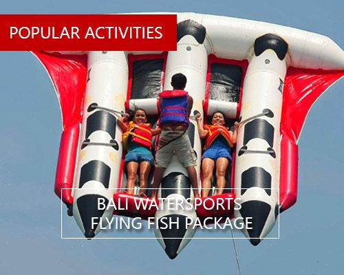 BALI WATERSPORTS FLYING FISH PACKAGE