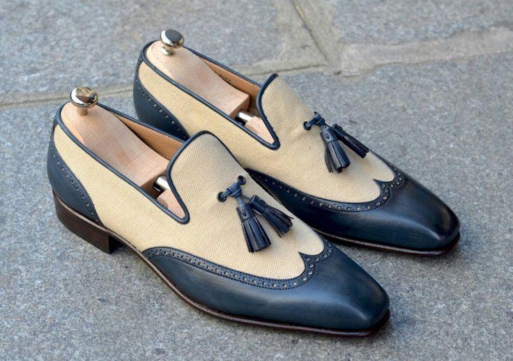 2 tone tassel loafers!!!