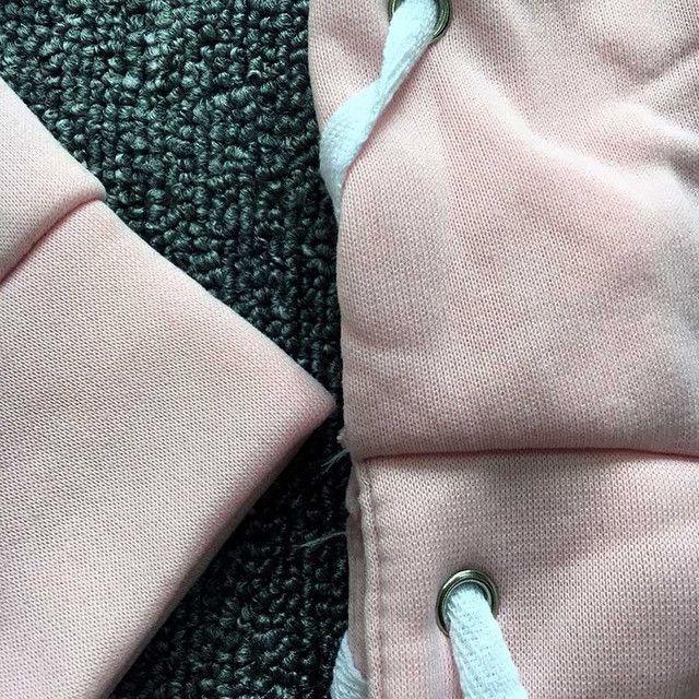 2017 Autumn Street Fashion Lace Up Hoodie Sweatshirt Women's Long Sleeve Tracksuit Plus Size sweatshirt Short Tops Truien Dames