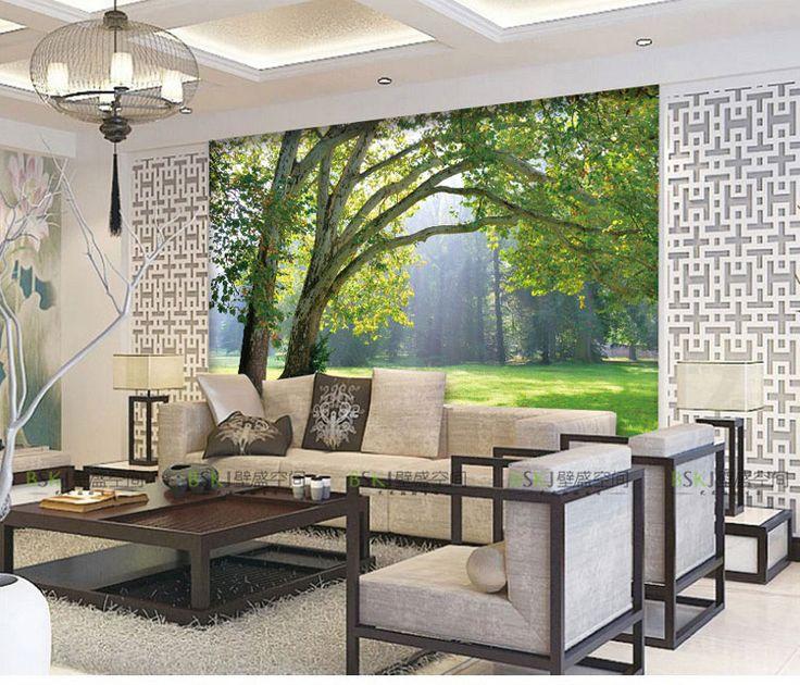 The 25+ best Living room wallpaper nature ideas on Pinterest ...
