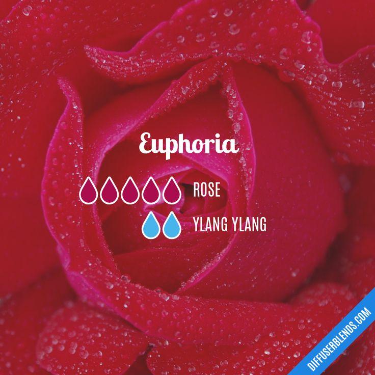 Blend Recipe: 5 drops Rose, 2 drops Ylang Ylang