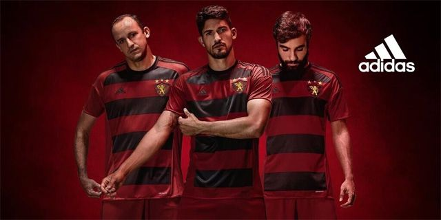 Camisas do Sport Recife 2016-2017 Adidas