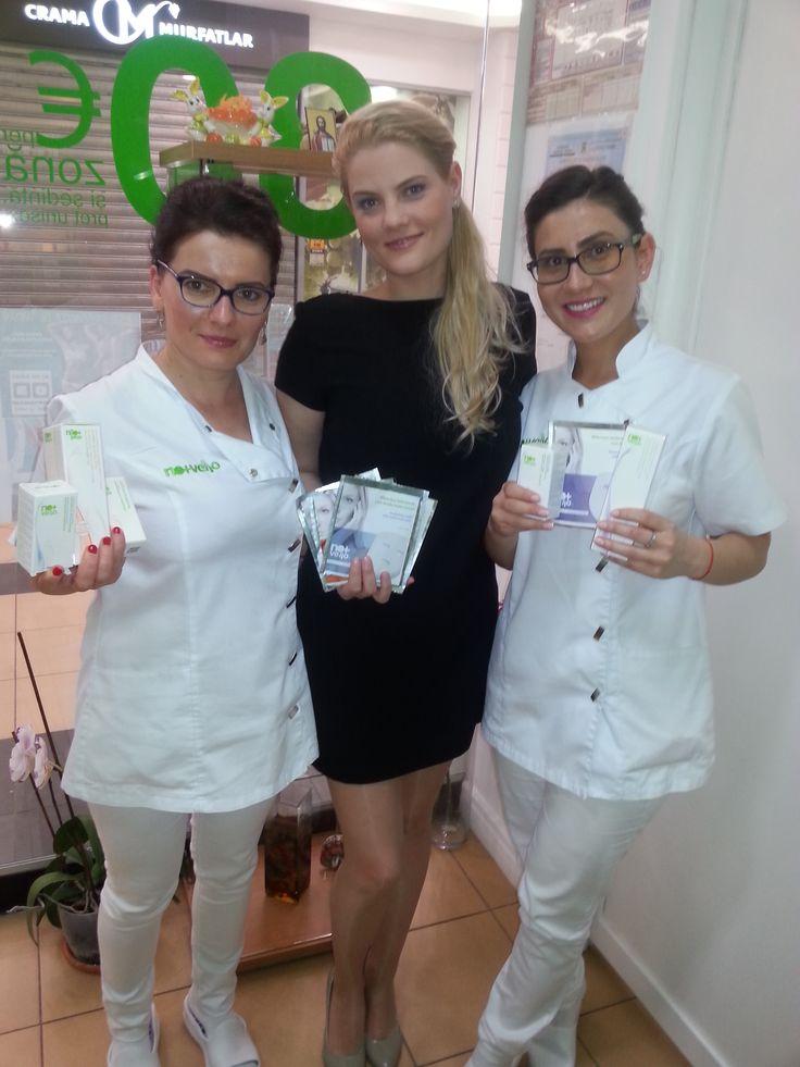 Ana coordoneaza centrul Nomasvello din Cora Lujerului. Clientele beneficiaza de tratamente de epilare definitiva cu IPL, de rejuvenare faciala si de curatare faciala in profunzime cu tehnologia ProSkin. Detalii: http://bit.ly/1RUzDW2