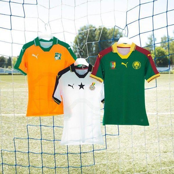 Camisas Puma para Copa das Nações Africanas