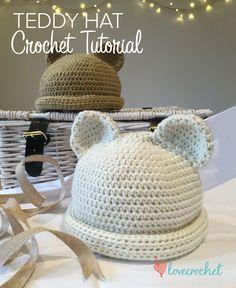Crochet Club: free teddy bear crochet tutorial by Kate Eastwood on LoveCrochet ☂ᙓᖇᗴᔕᗩ ᖇᙓᔕ☂ᙓᘐᘎᓮ http://www.pinterest.com/teretegui