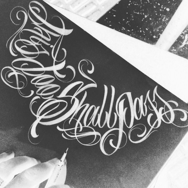 Tattoo Quotes Letter Style: The 25+ Best Gangster Fonts Ideas On Pinterest