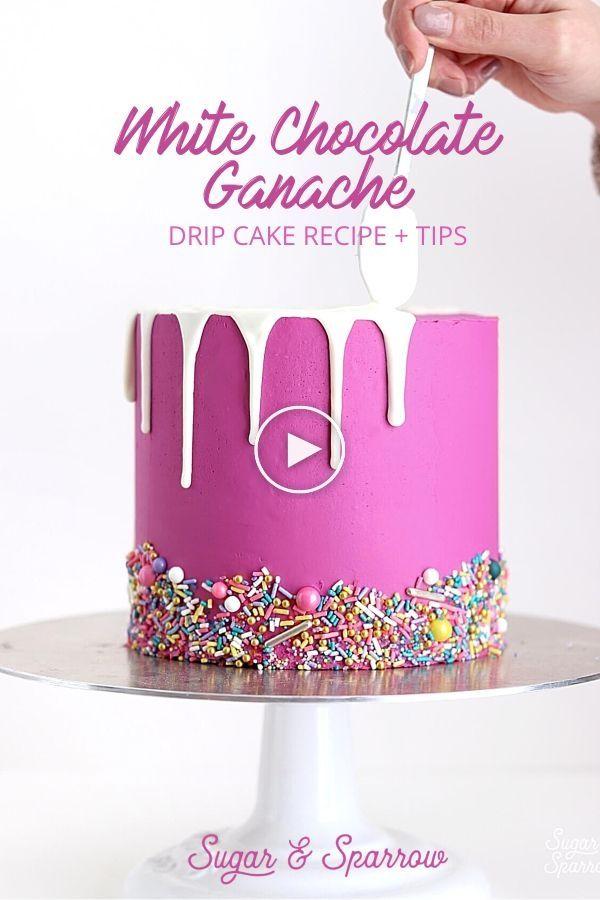 Recette De Gâteau Au Ganache Au Chocolat Blanc – Idées de Gâteau par Sandra