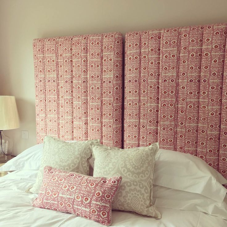 Beautiful headboard by Westcot House