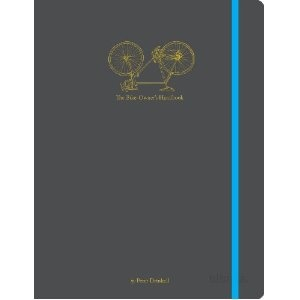The Bike Owner's Handbook. This is a pocket-sized guide, beautifully designed. It clearly shows how to change a tire and other needed repairs while on the go. Includes QR codes that when scanned with a smartphone, link to a short film demonstrating the tasks described.