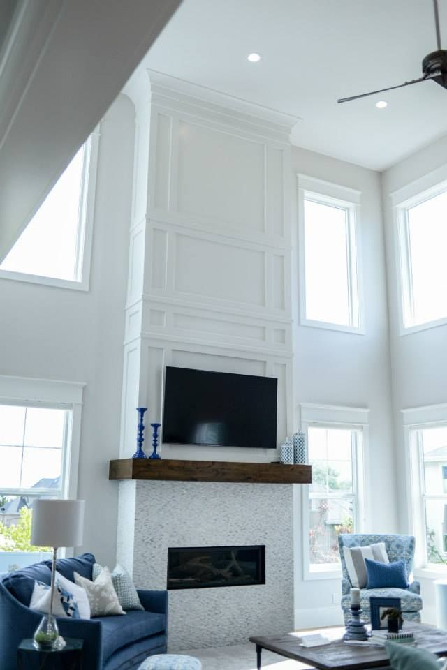 Image Result For Fireplace 2 Story Makeover Fireplace Remodel