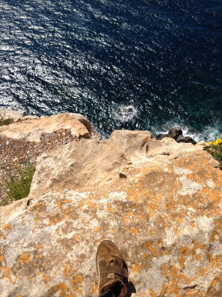 Pisando fuerte en Cap Blanc, Mallorca