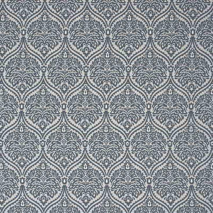 Warwick Fabrics : ASHWICK, Colour SLATE