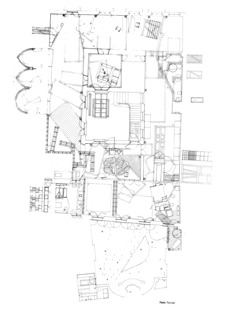 what a beautifully drawn plan by Miralles