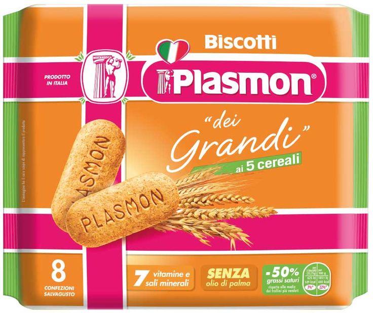 Il Biscotto Plasmon si reinventa per andare incontro alle esigenze di chi bambino non è più. Nasce infatti il biscotto Plasmon dei Grandi!