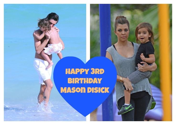 Happy Birthday Mason Disick! Check Out What Kourtney Kardashian And Scott Disick Have Planned! (Photos)
