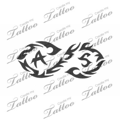infinity tattoo designs | Image Tribal Infinity Design ...