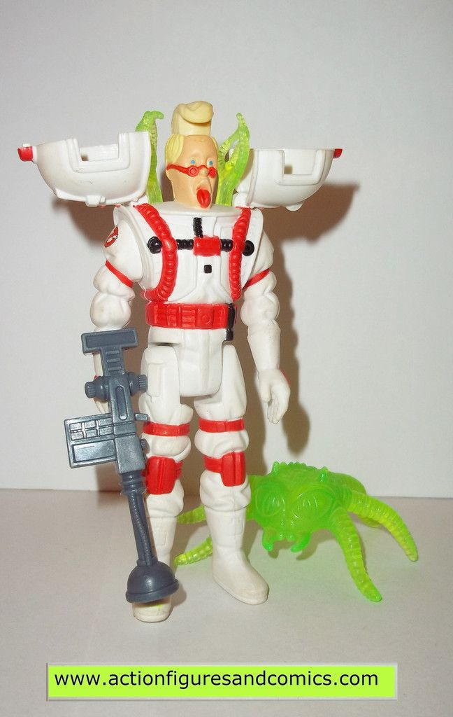 ghostbusters EGON SPENGLER super fright features 1989 the real kenner complete
