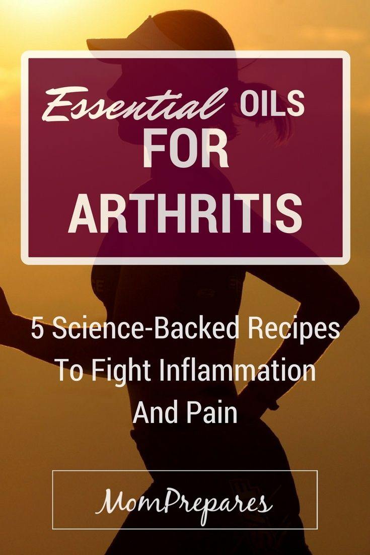 Essential oils are a natural and effective way to deal with symptoms of arthritis, such as pain and swelling. Here are some proven recipes.