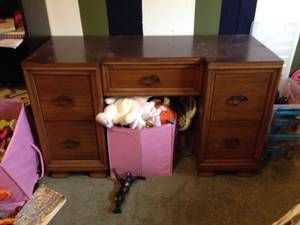 Seattle All For Sale Wanted Classifieds Wood Desk Craigslist Desk Wood