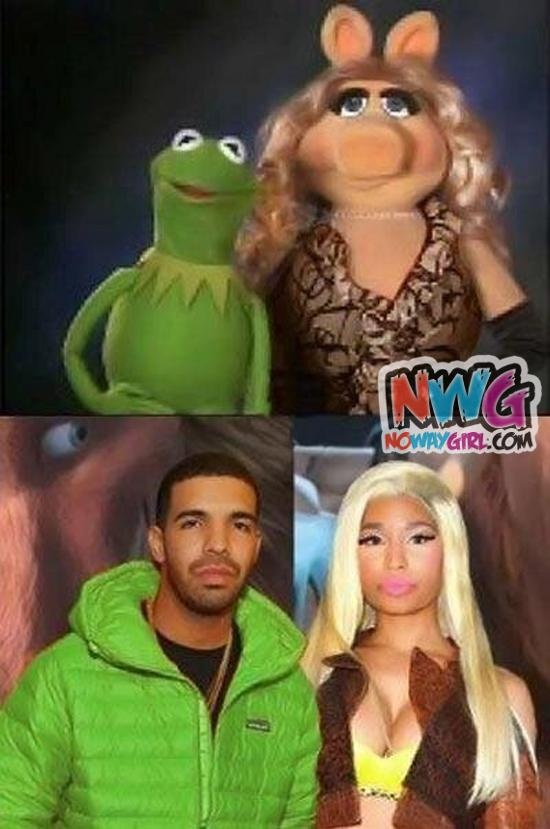 Drake And Nicki Minaj Or Kermit And Miss Piggy?