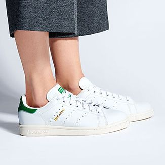 Adidas Stan Smith con dettagli verdi, ma sempre total white <3