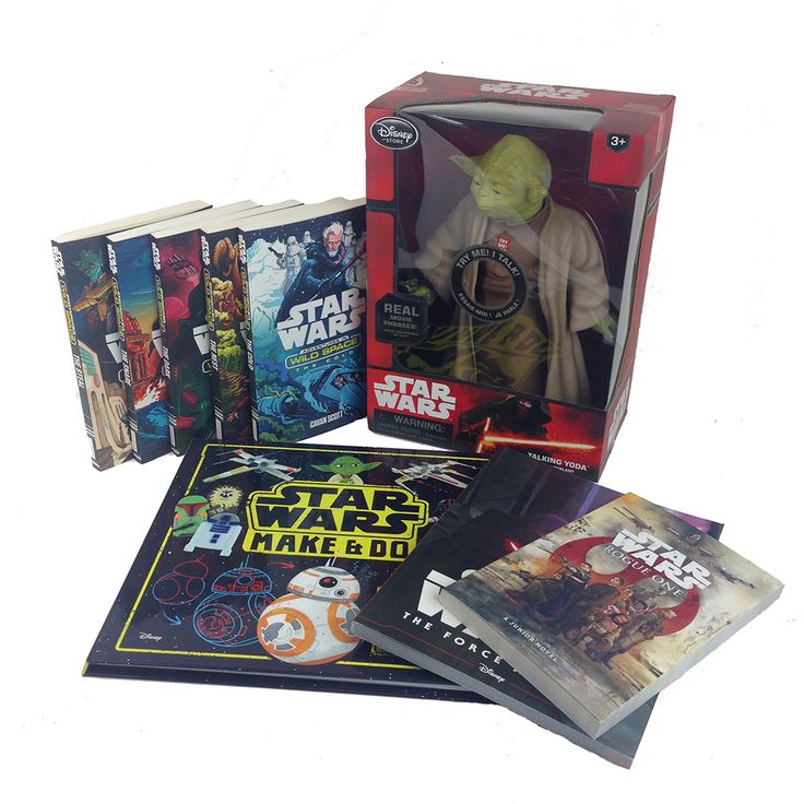 To celebrate Star Wars Reads we're giving away a bundle of Star Wars books and a talking Yoda!