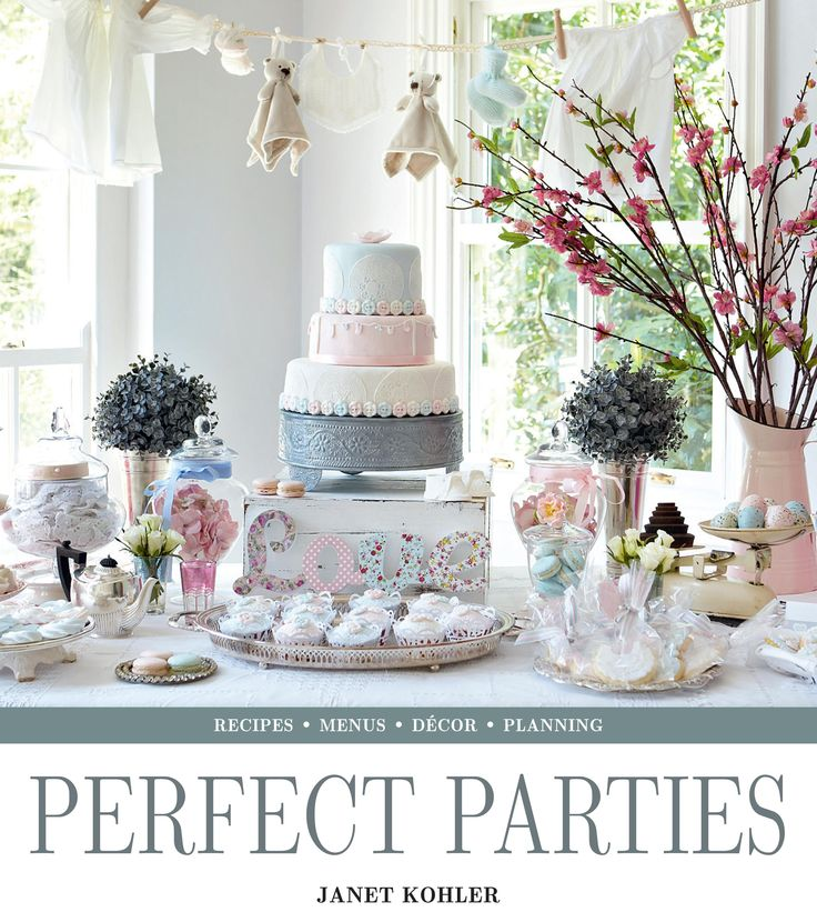 Perfect Parties - Janet Kohler. Recipes, menus, decor & planning. Published by Struik Lifestyle. October 2014. #PerfectParties Visit www.randomstruik.co.za/perfectparties for more information.