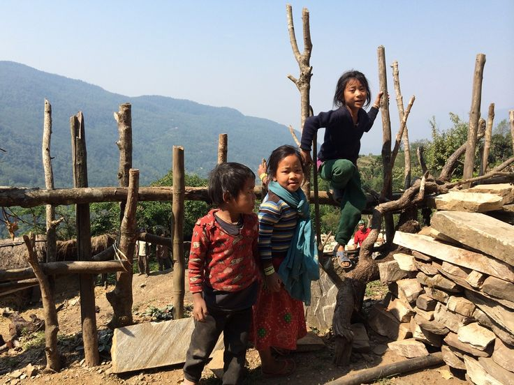 Meeting the locals!    #nepal #himalayas #hikingnepal