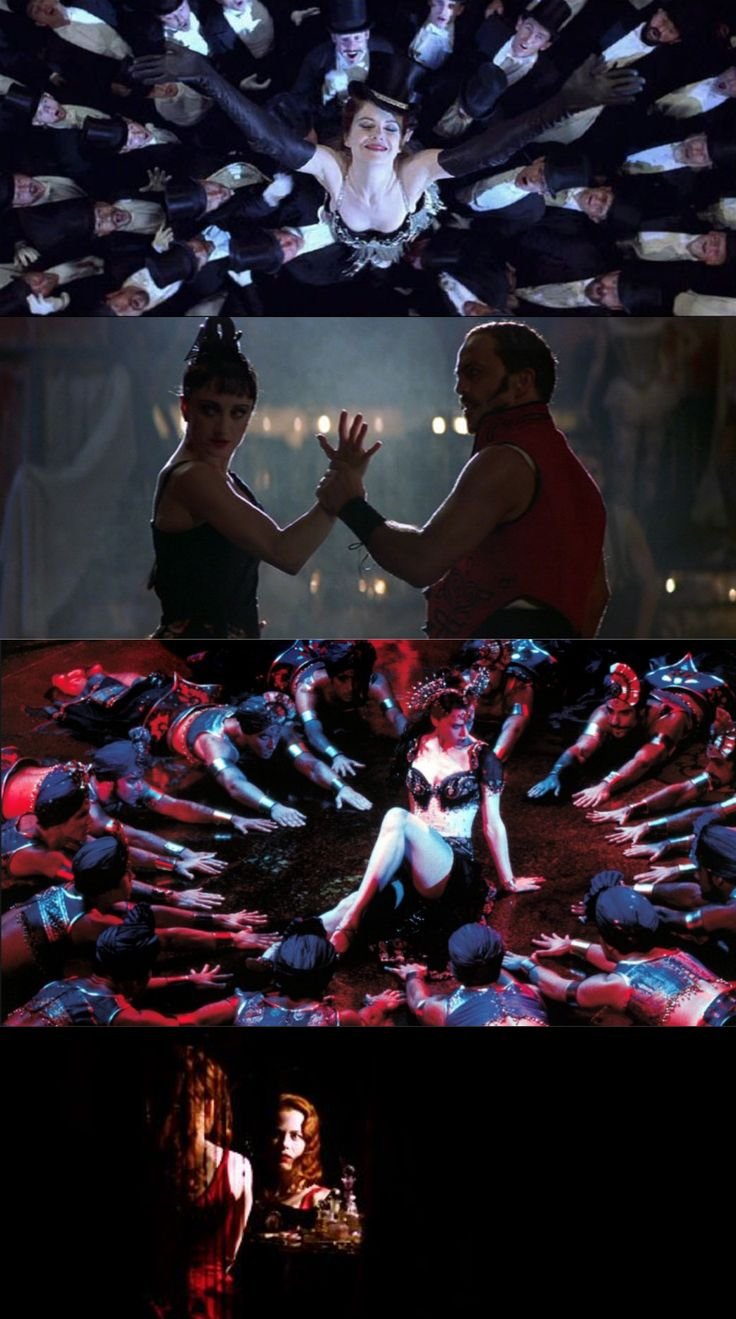 Moulin Rouge / Favorite Shots (2001), d. Baz Luhrmann, d.p. Donald McAlpine