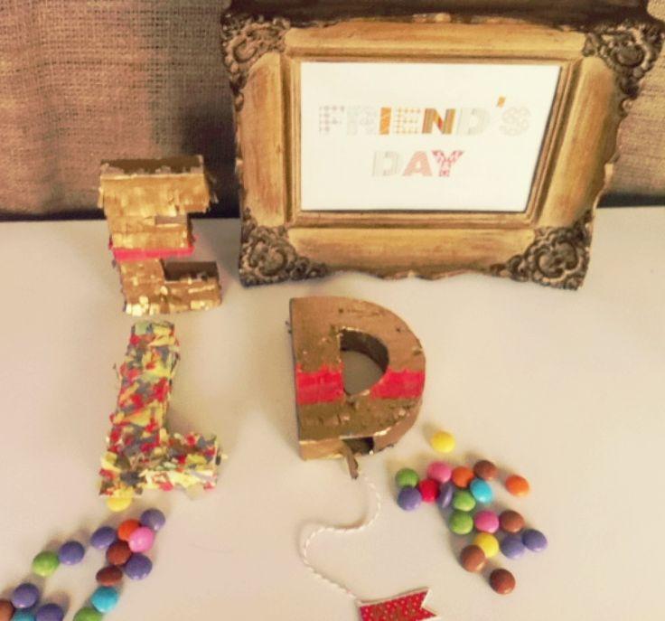 Mini Piñatas Día del Amigo! www.tiendadoilies.com.ar