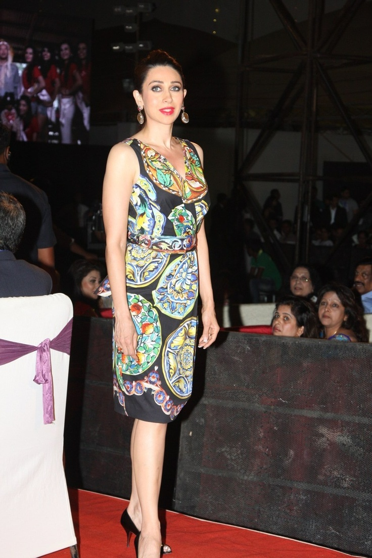 Karishma Kapoor at at Indian Princess Beauty Pegent Finale.