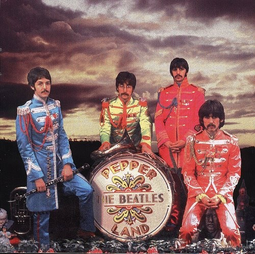 Paul, John, Ringo, and George