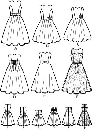 Simplicity 4070 from Simplicity patterns is a sewing pattern