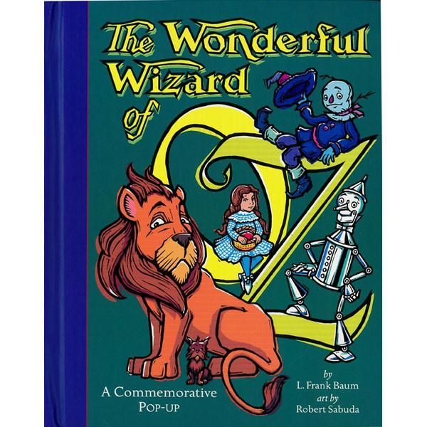 Description Details Robert Sabuda has created a resplendent pop-up version of The Wonderful Wizard of Oz to celebrate the 100th anniversary of the original publ