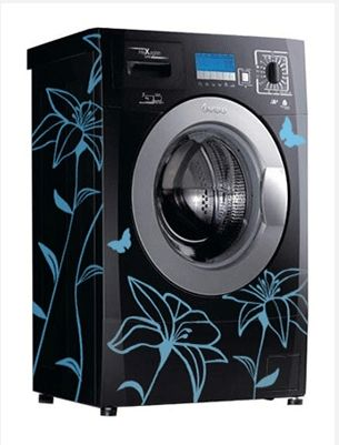 I want to put decals on my washer and dryer!