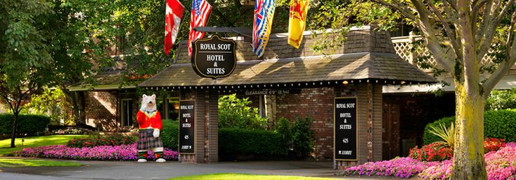 Royal Scot Hotel & Suites - Vancouver Island BC Golf Vacations, Victoria, BC