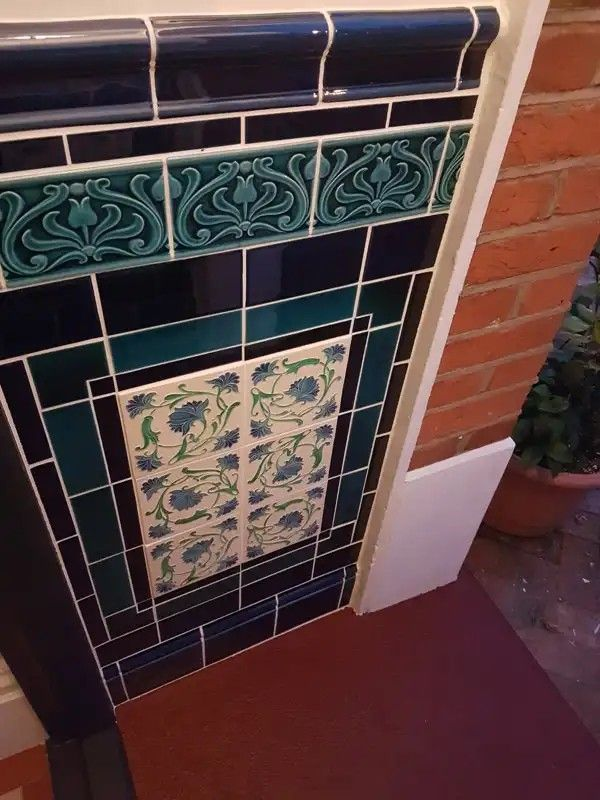 Pin By Susie Harold On Tiles Wally Stair Close Porch Tile