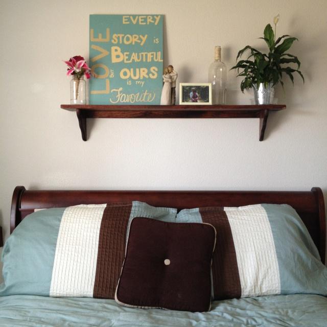 25 Best Ideas About Shelf Over Bed On Pinterest Shelves
