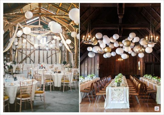 decoration lanterne en papier plafond