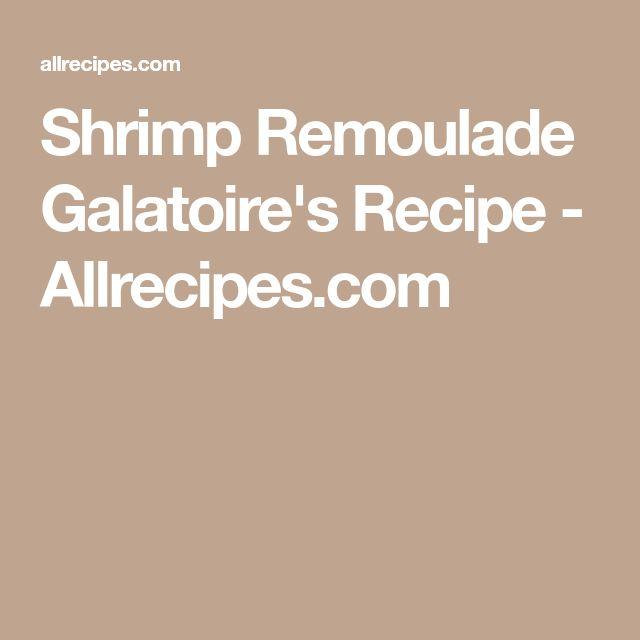 Shrimp Remoulade Galatoire's Recipe - Allrecipes.com