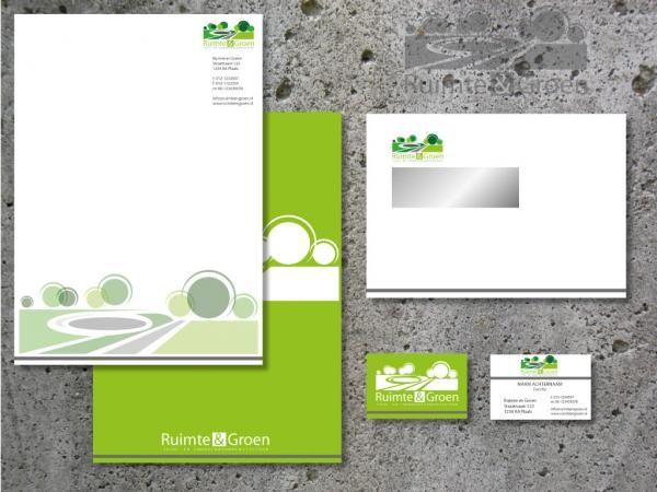 Ontwerpen van rgdesign - ontwerp logo en huisstijl voor een buro voor tuin- en landschapsarchitectuur