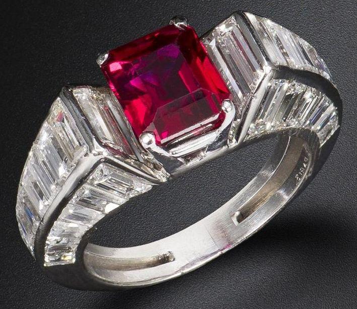 Van Cleef & Arpels, Ruby Ring
